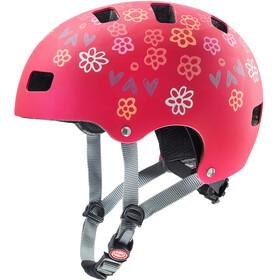 UVEX Kid 3 CC Cykelhjelm Børn rød/farverig